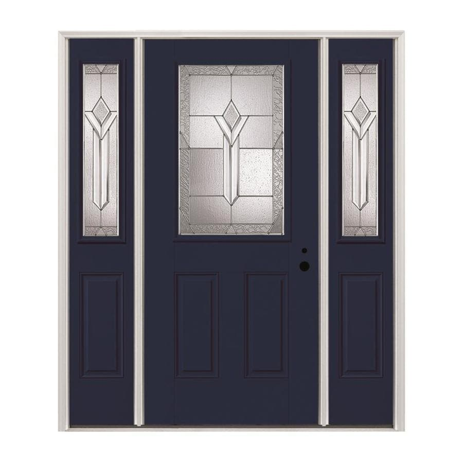 Pella half lite decorative glass left hand inswing - Decorative interior doors with glass ...
