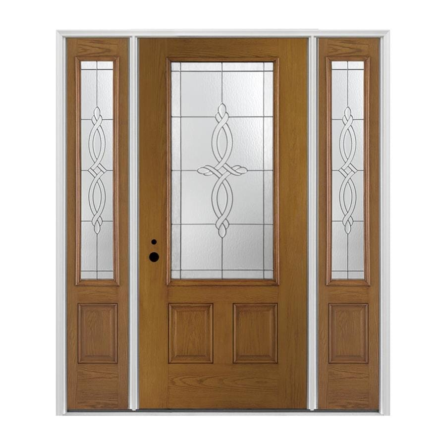 Pella 3 4 Lite Decorative Glass Right Hand Inswing Stained
