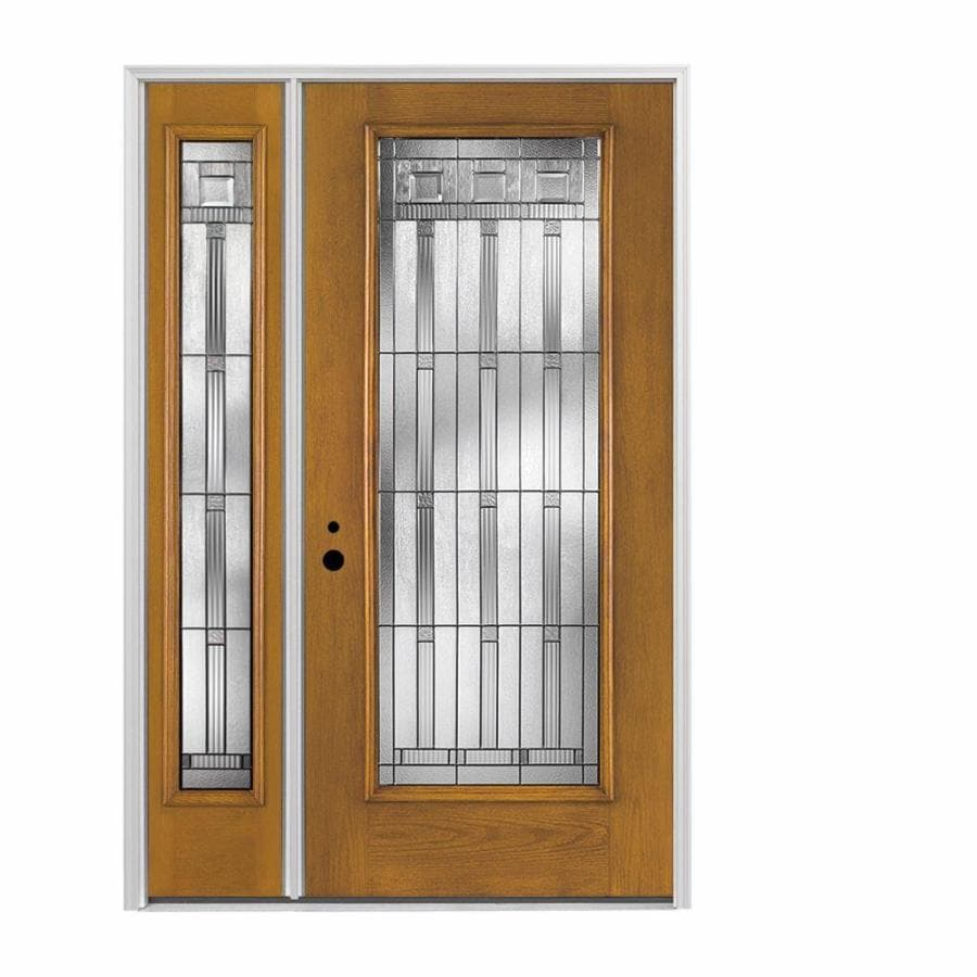 Pella full lite decorative glass right hand inswing - Decorative interior doors with glass ...