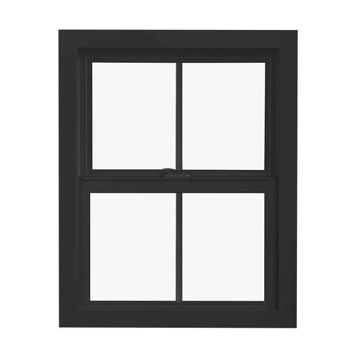 Pella Impervia Fiberglass Replacement Black Exterior