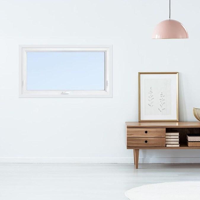 Pella Single Vinyl New Construction White Awning Window ...