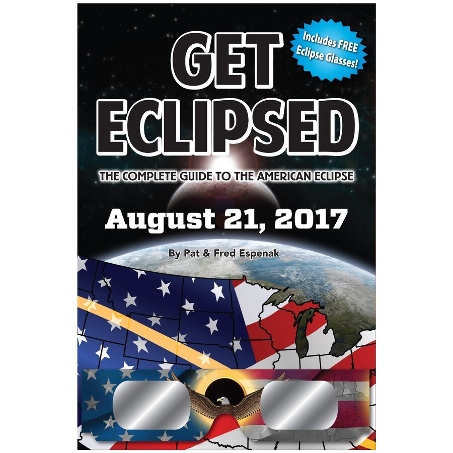 Eclipse Book with Glasses