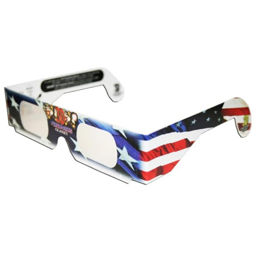 3D Independence Day Eyeglasses