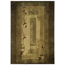 Allen Roth Holder Rectangular Indoor Tufted Nature Area Rug