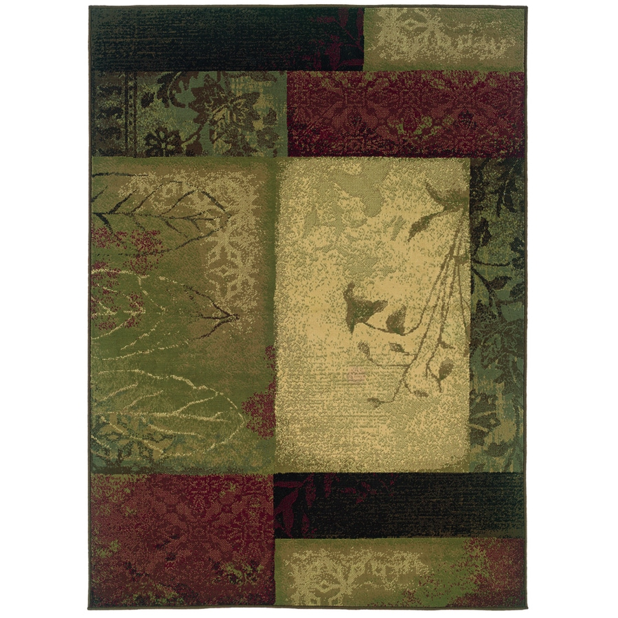 Shop Oriental Weavers Of America Bedford Green Rectangular