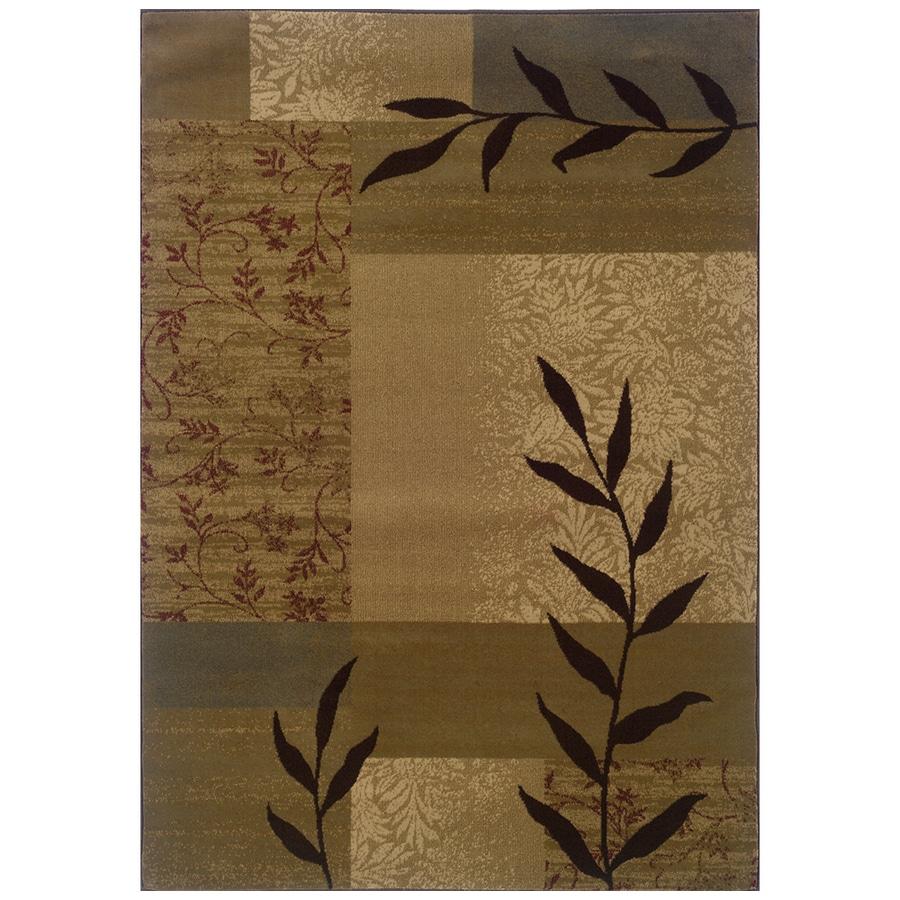 Sedia Home Vanessa Beige Rectangular Indoor Woven Nature Area Rug (Common: 4 x 6; Actual: 38-in W x 65-in L)