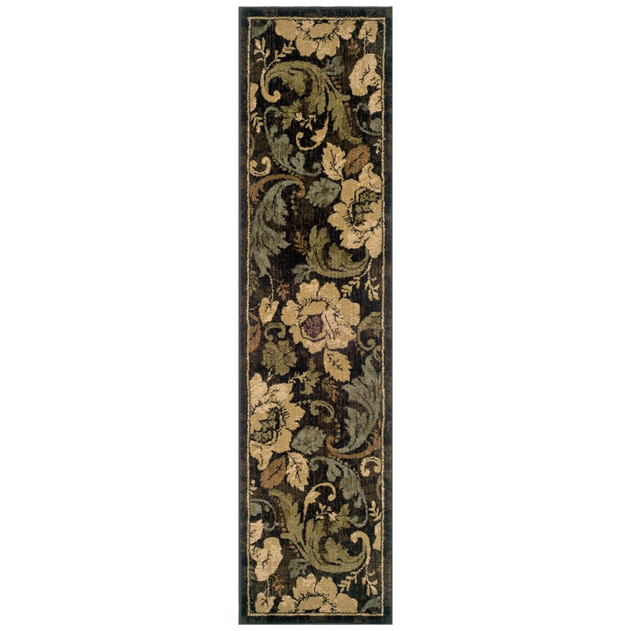 Sedia Home Sophie Brown Rectangular Indoor Woven Nature Runner (Common: 2 x 8; Actual: 22-in W x 90-in L)