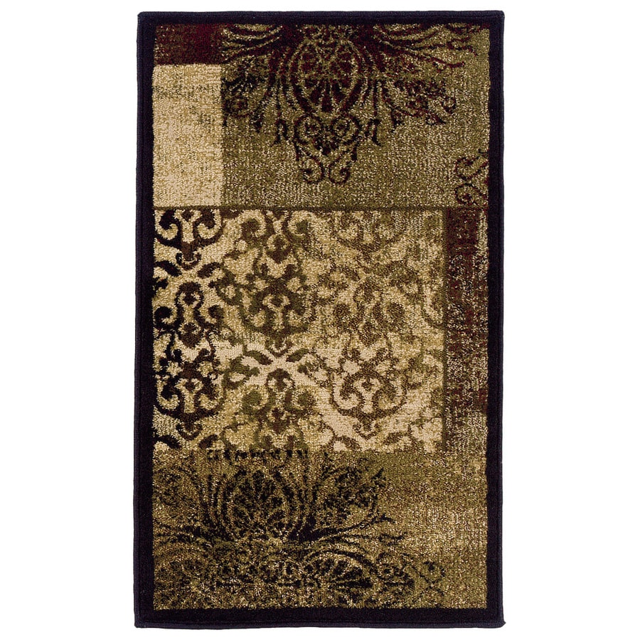 allen + roth Harrisburg Rectangular Indoor Woven Throw Rug (Common: 2 x 3; Actual: 22-in W x 39-in L)