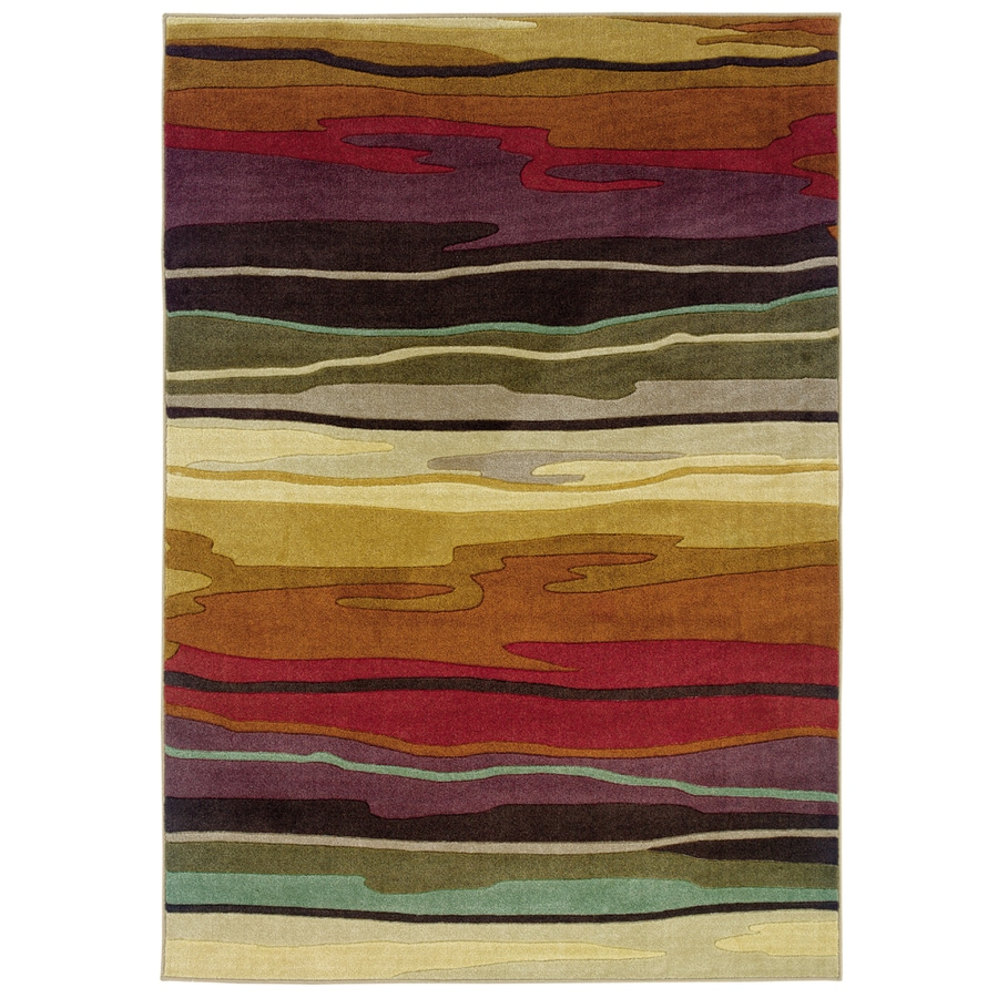 Oriental Weavers of America Riverdale Rectangular Indoor Tufted Area Rug (Common: 8 x 10; Actual: 94-in W x 121-in L)