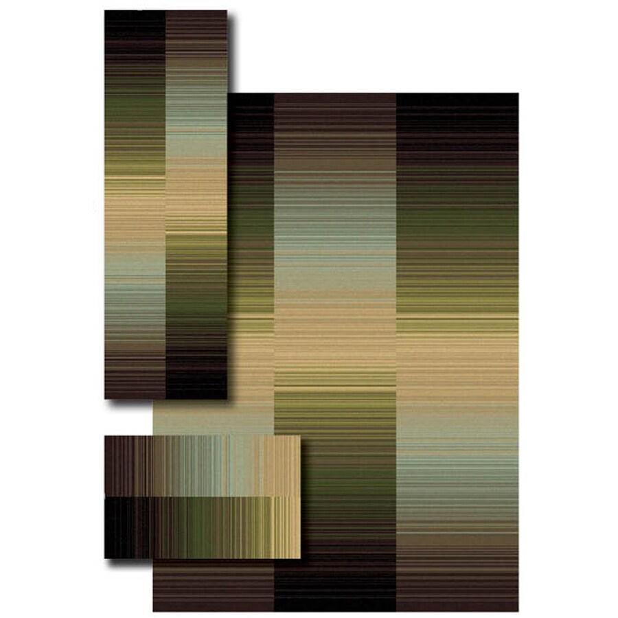 Oriental Weavers of America Garrison 4-ft 11-in x 7-ft Rectangular Multicolor Transitional Area Rug