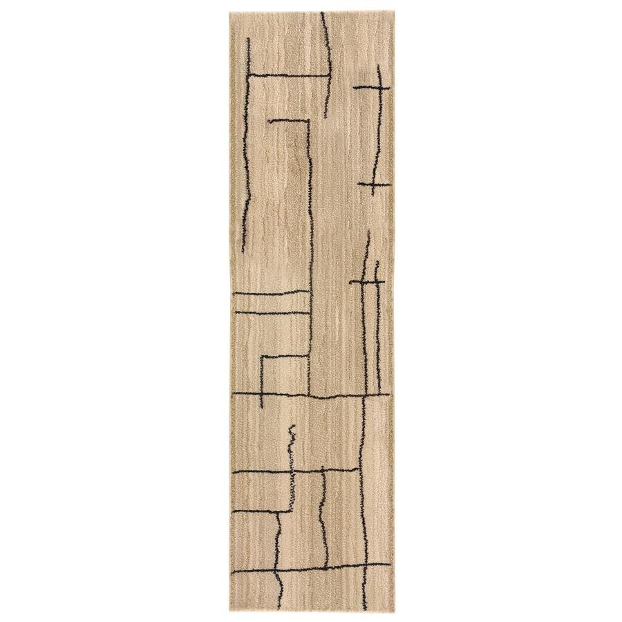 allen + roth Lamport Ivory Rectangular Indoor Woven Runner (Common: 2 x 8; Actual: 22-in W x 90-in L)