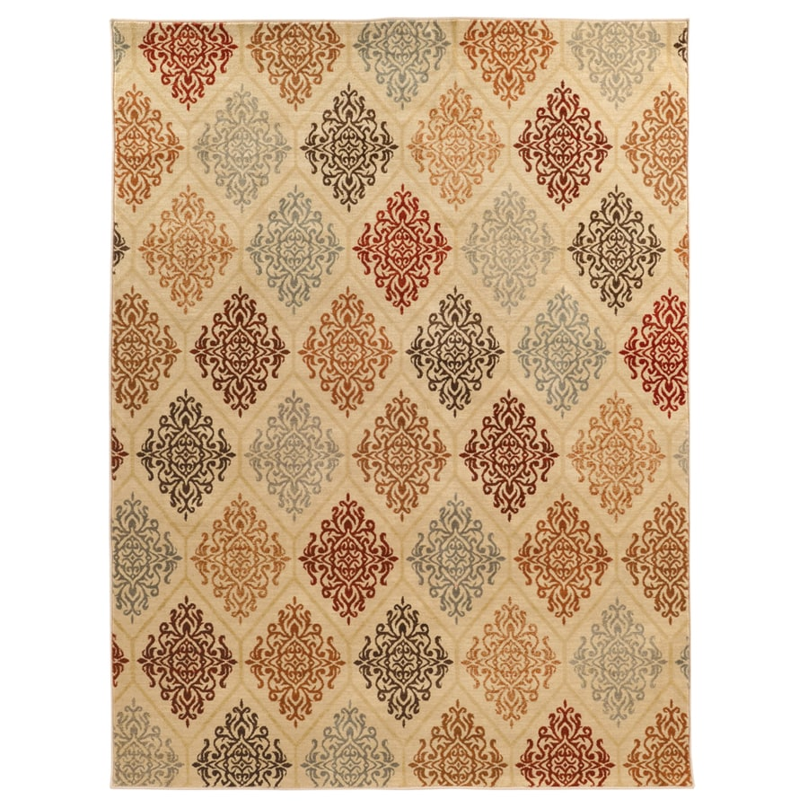 allen + roth Overstone Rectangular Indoor Woven Area Rug (Common: 8 x 11; Actual: 92-in W x 130-in L)