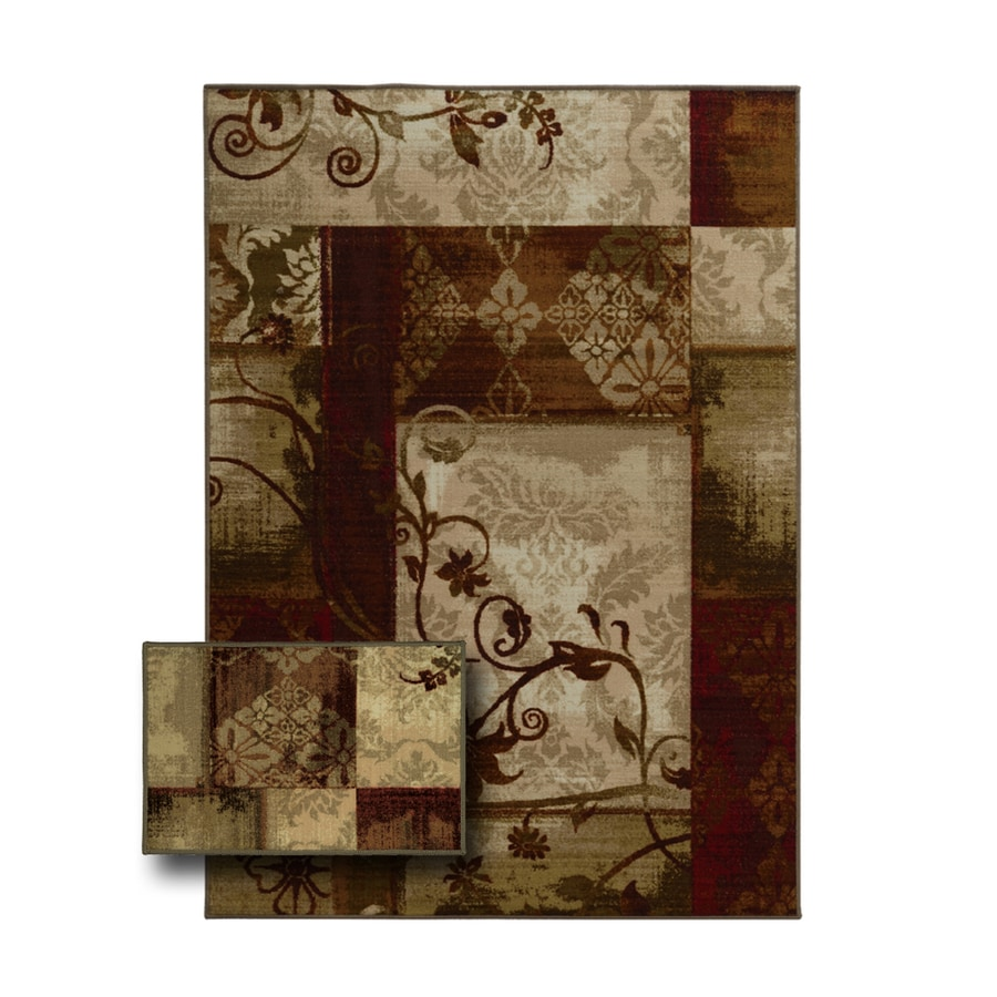 Oriental Weavers of America Aberdeen Rectangular Indoor Tufted Area Rug (Common: 6 x 9; Actual: 79-in W x 110-in L)