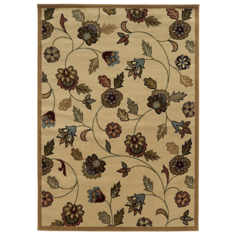 Oriental Weavers of America Kendall Rectangular Indoor Woven Area Rug (Common: 5 x 8; Actual: 63-in W x 90-in L)
