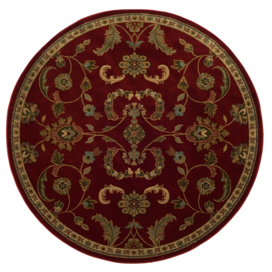 Charmant Oriental Weavers Of America Monarch Round Indoor Tufted Area Rug