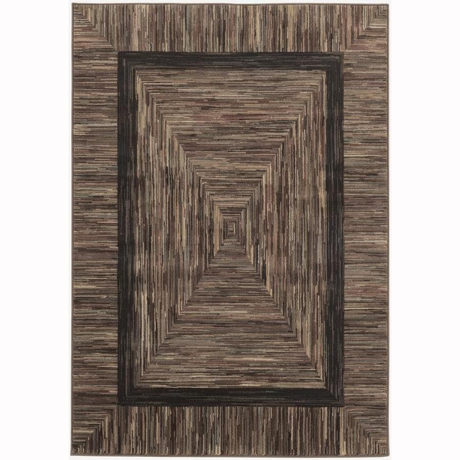 allen + roth River Hills Multicolor Rectangular Indoor Woven Throw Rug (Common: 2 x 3; Actual: 2.17-ft W x 3.25-ft L)