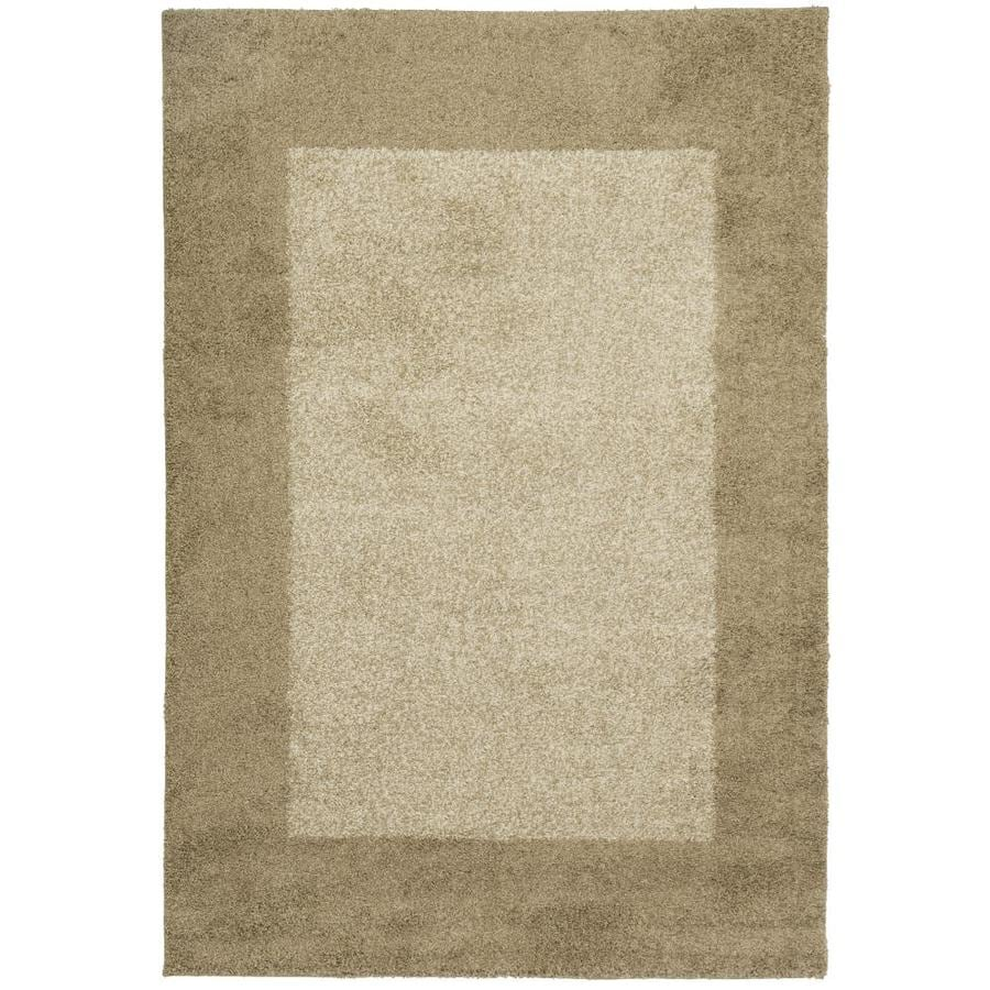 Allen + Roth Covenshire Beige Rectangular Indoor Machine Made Oriental Area  Rug (Common: