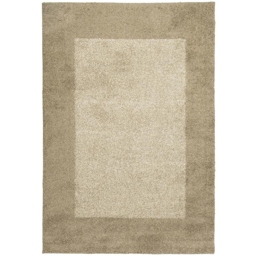 allen + roth Covenshire Beige Rectangular Indoor Woven Area Rug (Common: 10 x 13; Actual: 118-in W x 153-in L)