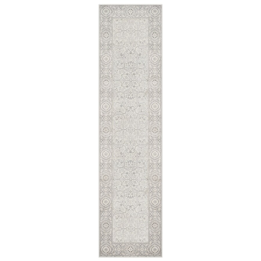 Oriental Weavers of America Mansfield Ivory Rectangular Indoor Woven Oriental Runner (Common: 2 x 8; Actual: 1.83-ft W x 7.5-ft L)