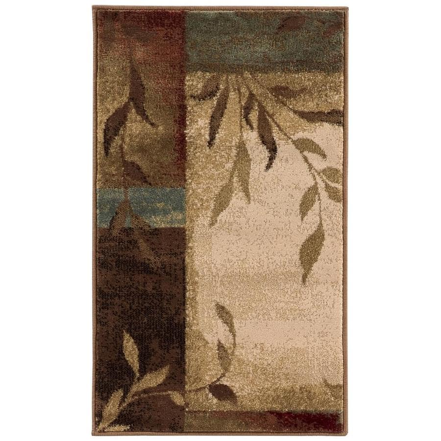 Oriental Weavers of America Harper Multicolor Rectangular Indoor Machine-Made Nature Throw Rug (Common: 2 x 3; Actual: 1.83-ft W x 3.25-ft L)