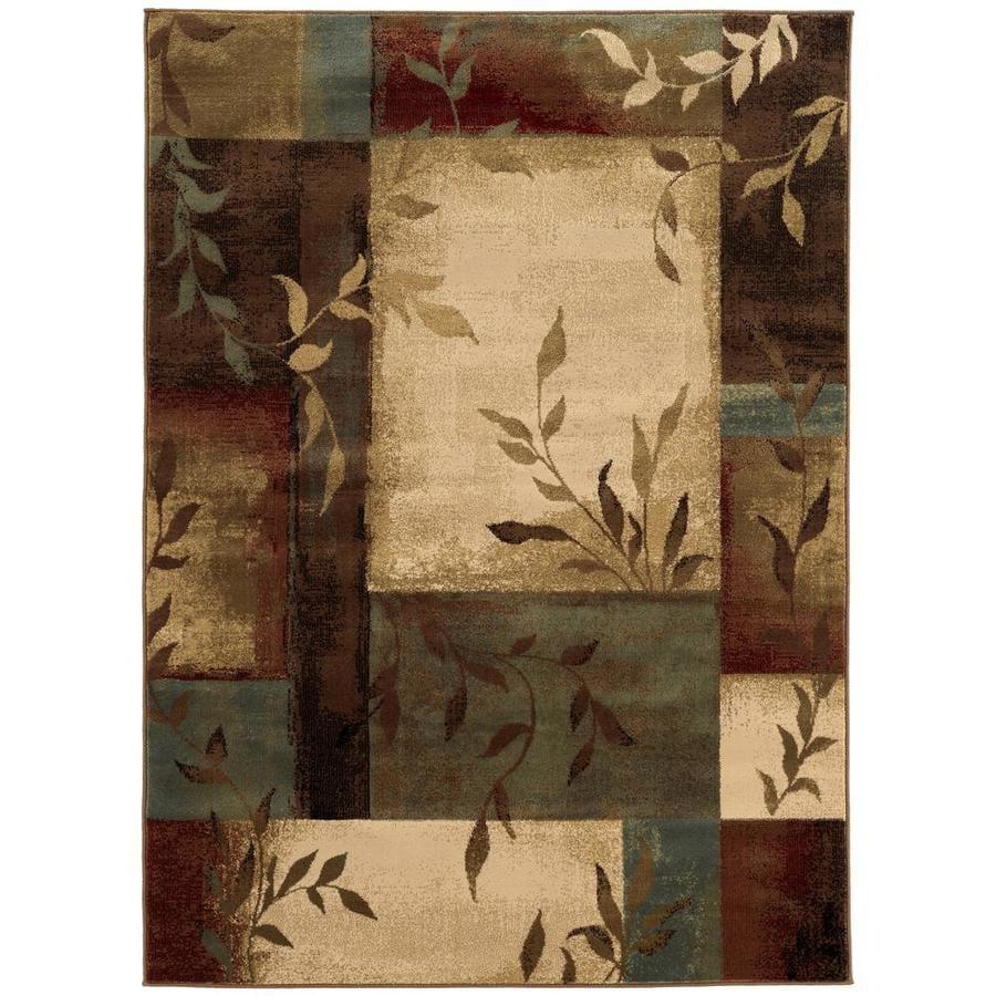 Oriental Weavers of America Harper Multicolor Rectangular Indoor Woven Nature Area Rug (Common: 5 x 8; Actual: 63-in W x 90-in L)
