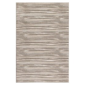 allen + roth Crawburg Neutral Indoor Area Rug (Common: 5 x 8; Actual: 5.25-ft W x 7.5-ft L)