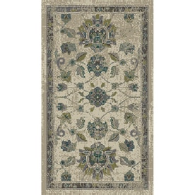 allen + roth Portsbury Beige Indoor Oriental Throw Rug (Common: 2 x 4; Actual: 1.83-ft W x 3.25-ft L)