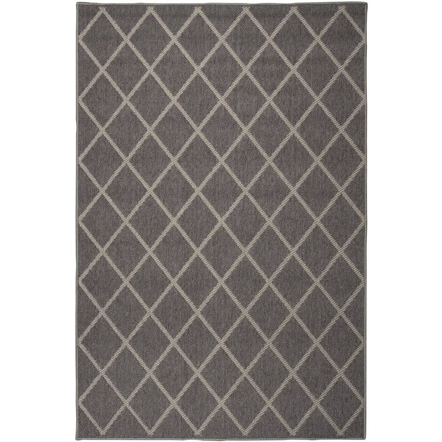 Oriental Weavers of America Tuscany Mocha Rectangular Indoor/Outdoor Woven Area Rug (Common: 5 x 8; Actual: 5.25-ft W x 7.5-ft L)