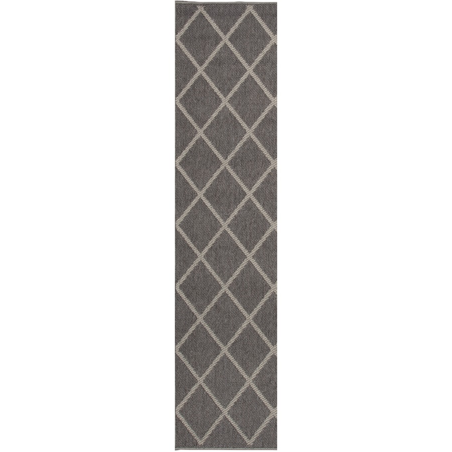 Oriental Weavers of America Tuscany Mocha Rectangular Indoor and Outdoor Woven Runner (Common: 2 x 8; Actual: 22-in W x 90-in L)