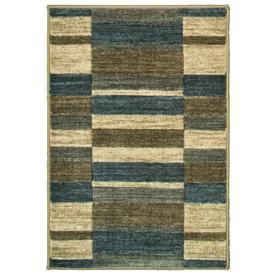 Oriental Weavers of America Cosmopolitan Slate Indoor Throw Rug (Common: 2 x 3; Actual: 2.17-ft W x 3.25-ft L)