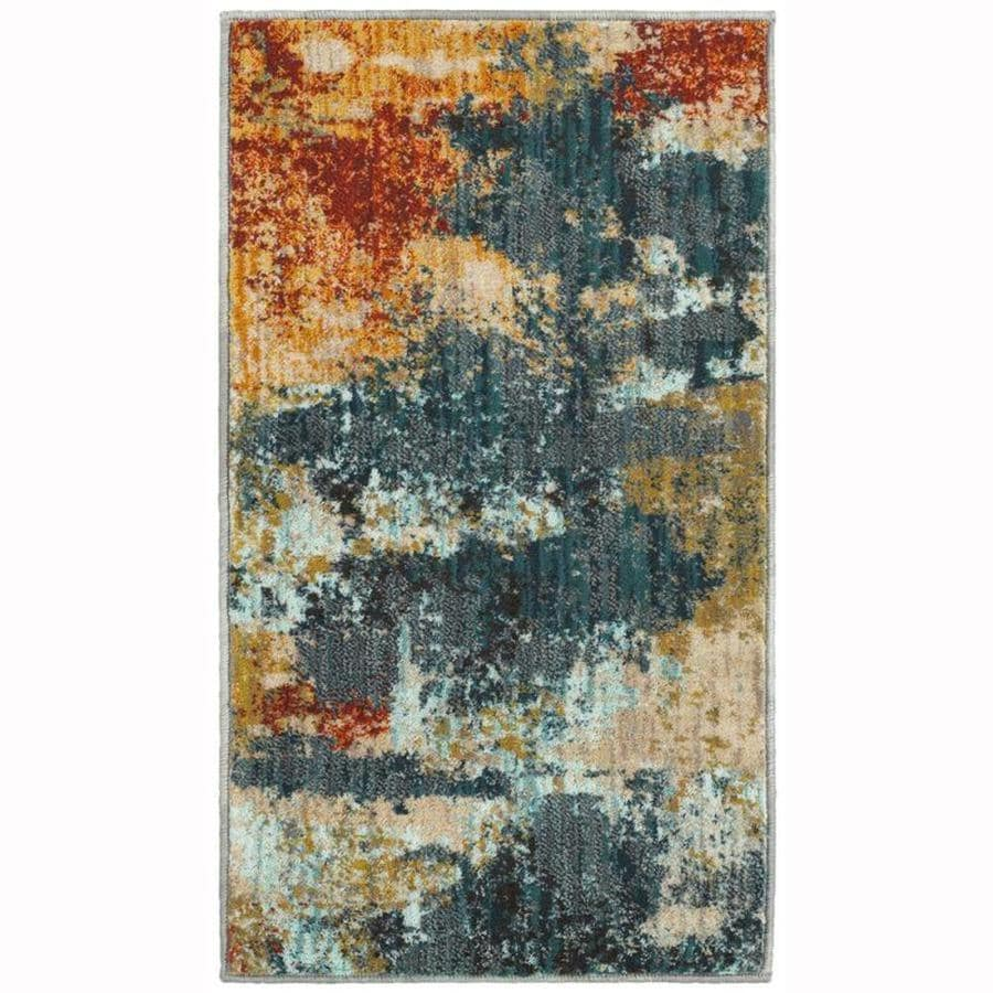 Oriental Weavers Of America Brisbane Multicolor Indoor Throw Rug Common 2 X 3