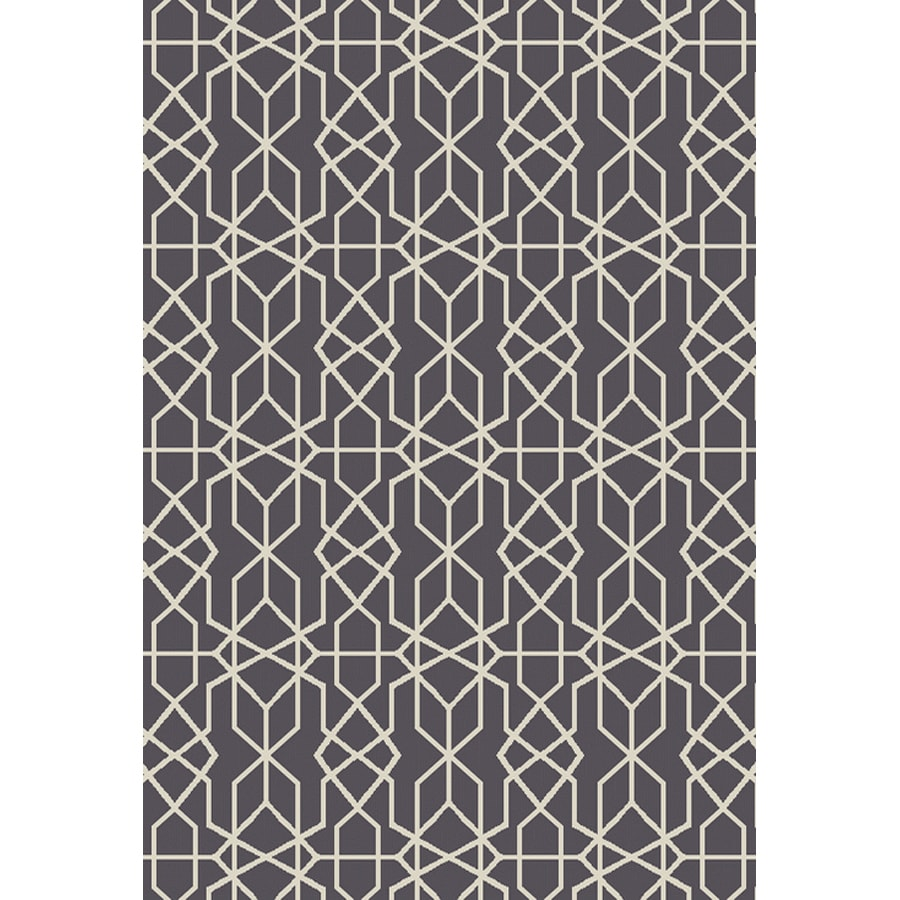 Oriental Weavers Of America Leland Dark Gray Indoor Outdoor Area Rug Common