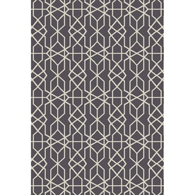 Oriental Weavers Of America Leland Dark Gray Rectangular Indoor Outdoor Woven Area Rug Common
