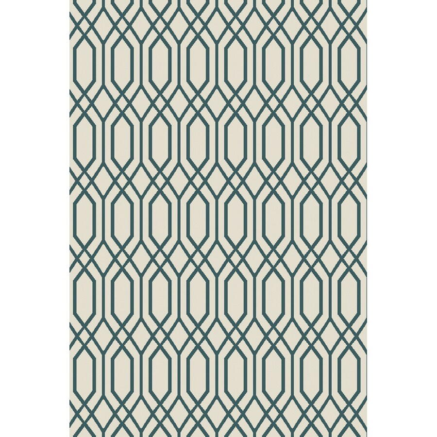 Oriental Weavers Of America Fairfield Ivory Rectangular Indoor Outdoor Woven Area Rug Common