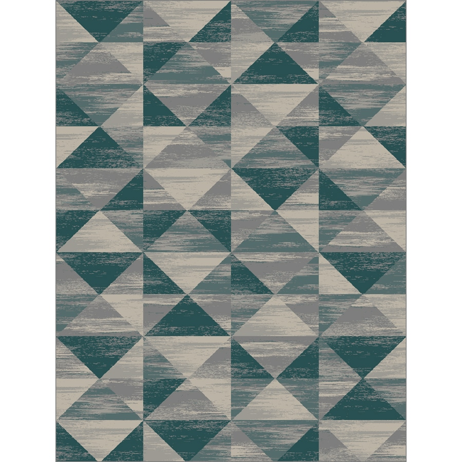 Oriental Weavers of America Talifer Multicolor Rectangular Indoor Machine-Made Inspirational Area Rug (Common: 5 x 7; Actual: 5-ft W x 6.58-ft L)