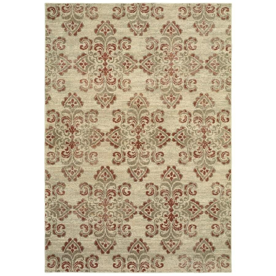 allen + roth Whitmire Sand Indoor Oriental Throw Rug (Common: 2 x 4; Actual: 1.833-ft W x 3.25-ft L)