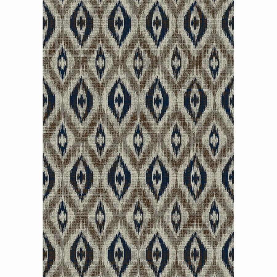 allen + roth Embrook Gray Rectangular Indoor Machine-Made Moroccan Area Rug (Common: 5 x 7; Actual: 5.25-ft W x 7.5-ft L)