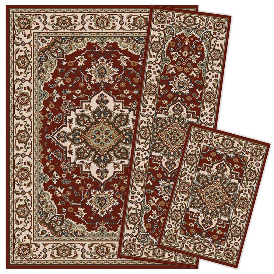 Oriental Weavers Of America Kingston Red Indoor Oriental