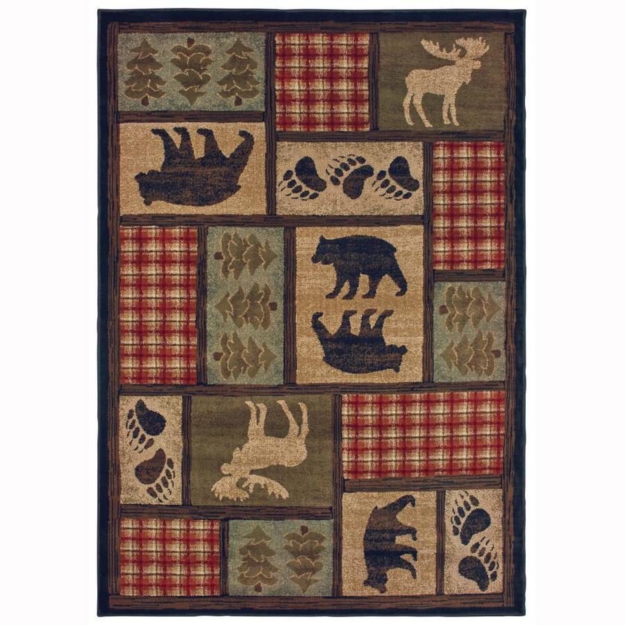 Oriental Weavers Of America Woodland Indoor Lodge Area Rug