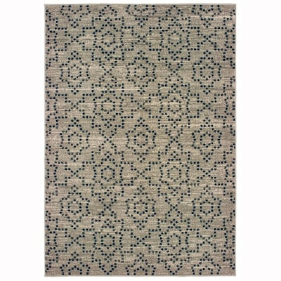 Candone Charcoal Rectangular Indoor Machine Made Area Rug Common 8 X 11 Actual 7 83 Ft W 10 L