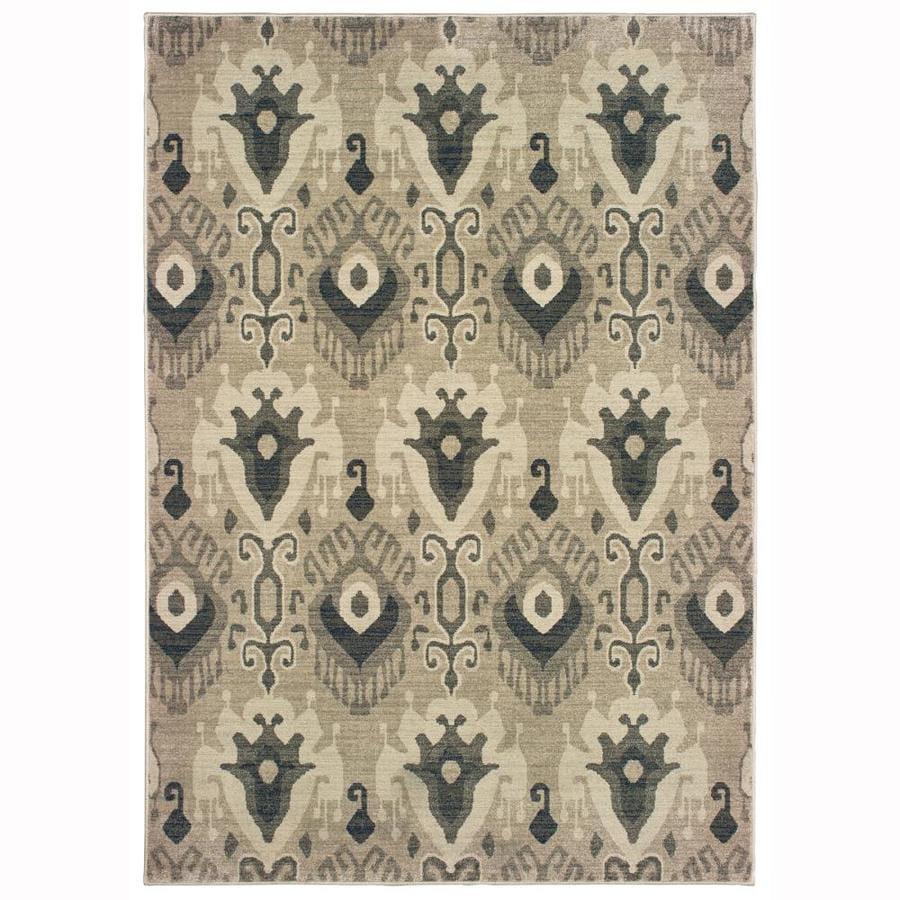 Oriental Weavers Of America Bancroft Ivory Indoor Area Rug Common