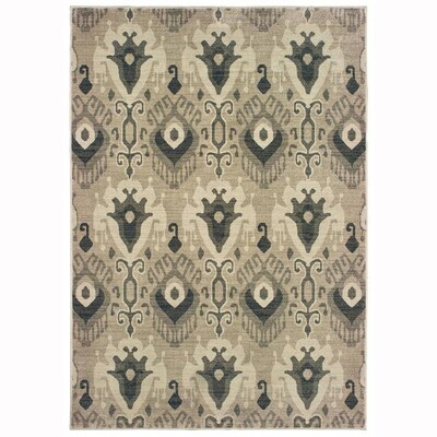 Bancroft Ivory Indoor Global Area Rug Common 8 X 11 Actual 7 83 Ft W 10 L