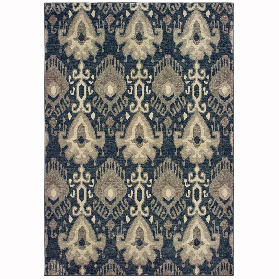 Oriental Weavers Of America Bancroft Charcoal Indoor Area Rug