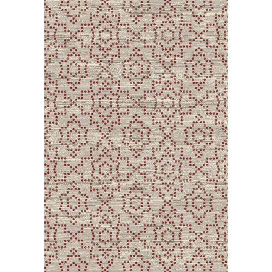 Allen Roth Candone Paprika Indoor Area Rug Common 8 X 11 Actual