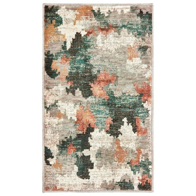 Brinkley Multicolor Rectangular Indoor Machine Made Bohemian Eclectic Throw Rug Common 2 X 3 Actual 1 83 Ft W 25 L