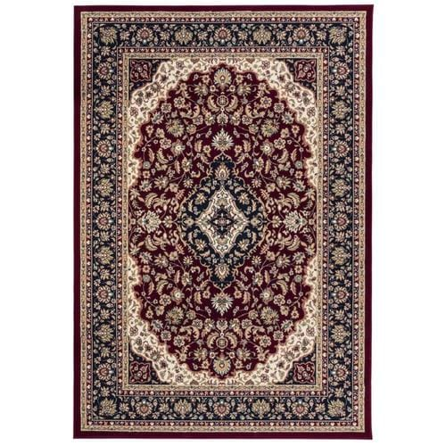 Style Selections Linalore 8 X 11 Red Indoor Medallion Oriental Area Rug In The Rugs Department At Lowes Com