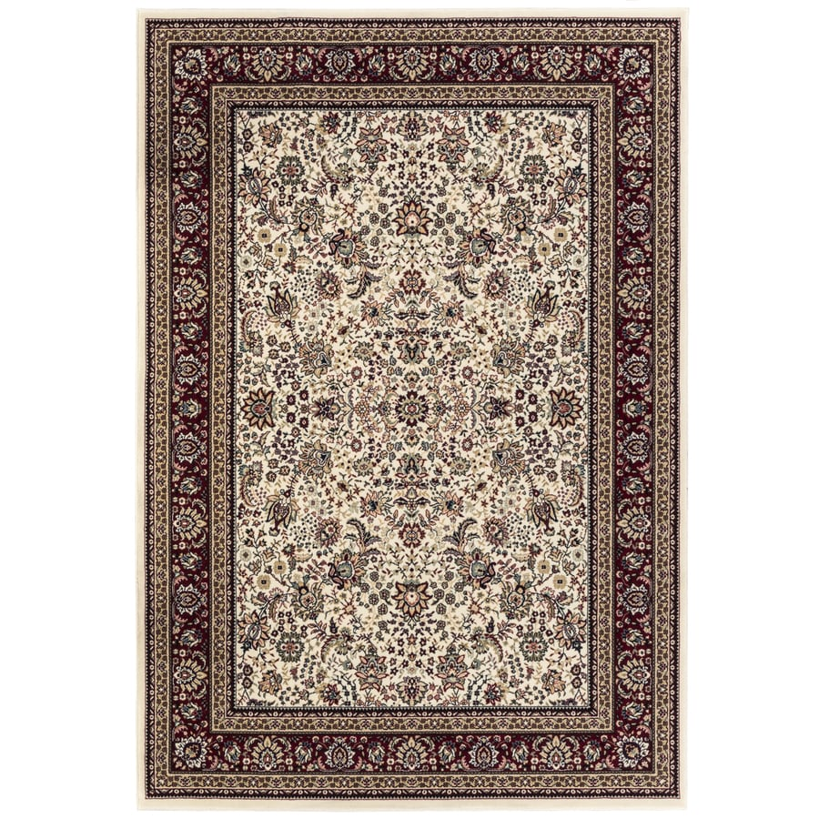 Style Selections Koralin Ivory Indoor Area Rug Common 5