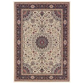 Style Selections Markle Ivory Rectangular Indoor Machine-Made Oriental Runner (Common: 2 x 8; Actual: 1.83-ft W x 7.5-ft L)