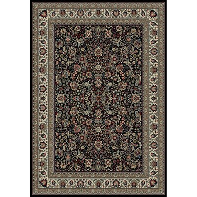 Style Selections Koralin Black Indoor Oriental Area Rug