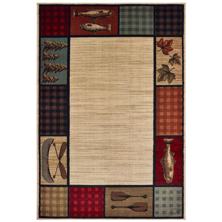 Oriental Weavers Of America Riverside Beige Rectangular